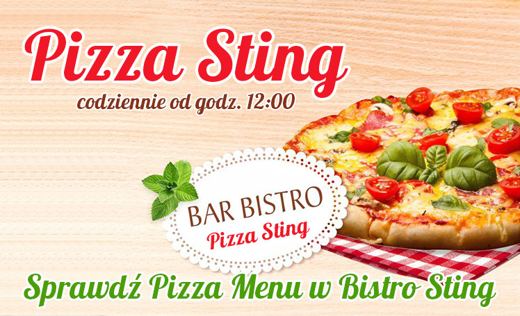 Pizza Menu Sting Bistro wpis